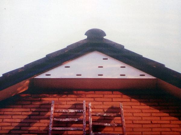 Nestkast Gierzwaluw Nokkast 9Kamers dicht klein